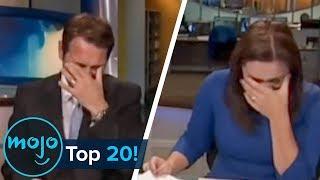 Top 20 Hilarious News Reporting Fails