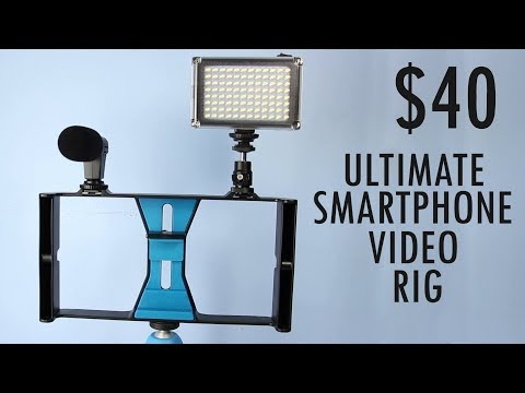 $40 Smartphone Video Rig Review! Awesome or Trash? - UCuwC0BIaKqs3UOVPzFTFPvA
