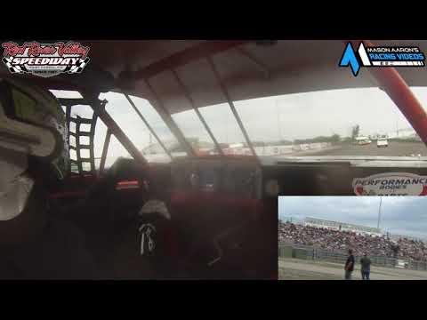 #B1 Brody Carlsrud IMCA Stock Car On-Board @ RRVS (6/25/21) - dirt track racing video image