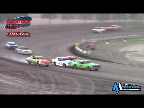 Dacotah Speedway Hobby Stock A-Main (8/13/21) - dirt track racing video image