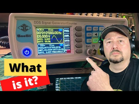 DDS Signal Generator and Counter