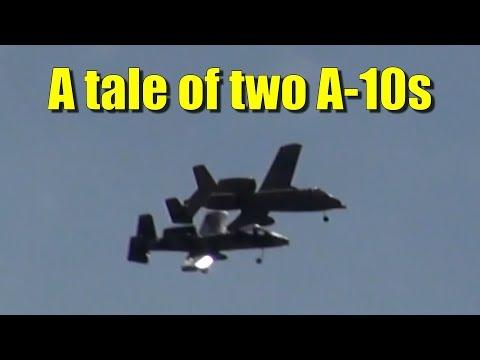Two A-10 Warthogs (my ears, my ears!) - UCQ2sg7vS7JkxKwtZuFZzn-g