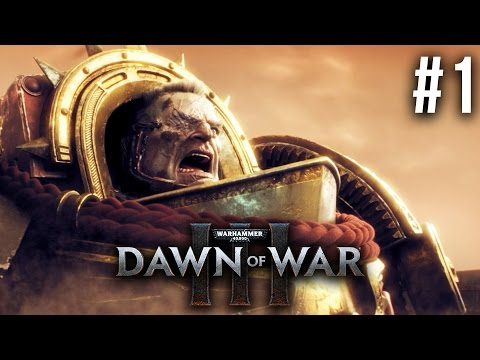 DAWN OF WAR 3 Gameplay Walkthrough Part 1 - MISSION 1 (FULL GAME)