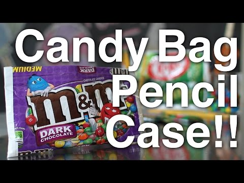Recycled Candy Pencil Case!! - UCT2DHGz461IICYwGqOEiGXg