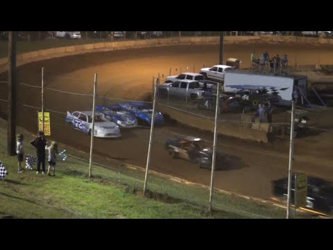 Stock 4a at Winder Barrow Speedway June 26th 2021 - dirt track racing video image
