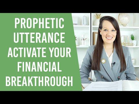 Prophetic Word: Activate your Financial Breakthrough