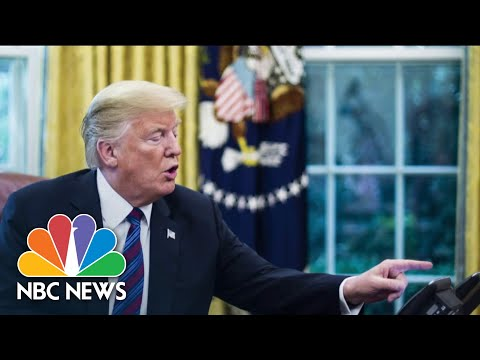 Trump Asked DOJ To Declare 2020 Election 'Corrupt'