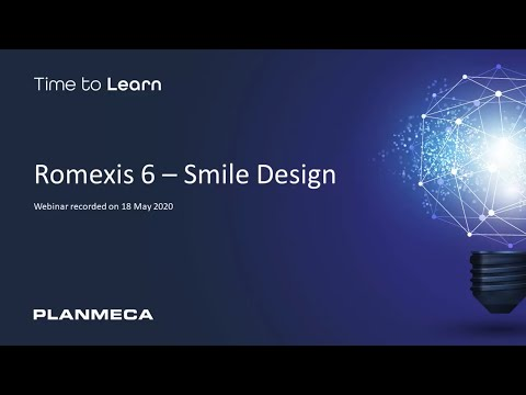 Webinar: Romexis 6 - Smile Design