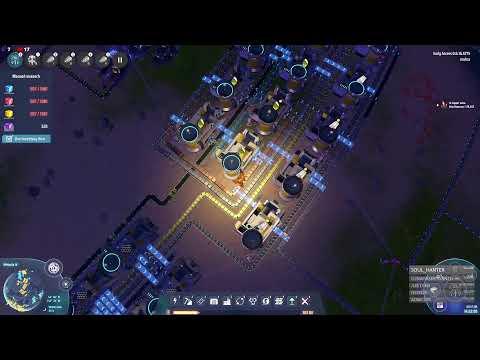 Dyson Sphere Program   s2ep5   Фиолетовые кубы или в поисках варп двигателя