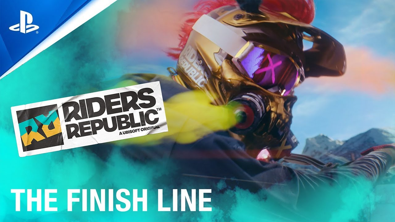 """Riders Republic – """"The Finish Line"""" ft. Fabio Wibmer: Live Action Trailer 