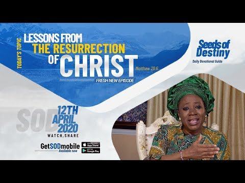Dr Becky Paul-Enenche - SEEDS OF DESTINY  SUNDAY APRIL 12, 2020