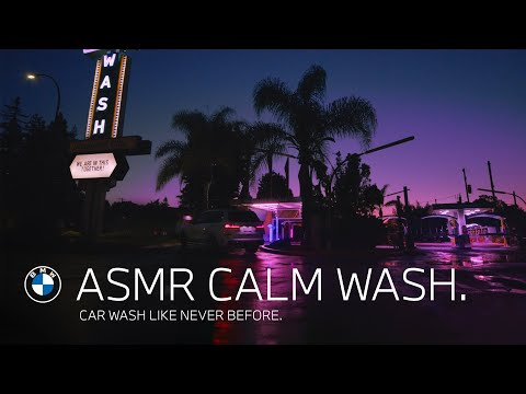 ASMR Calm Wash. Car wash like never before.