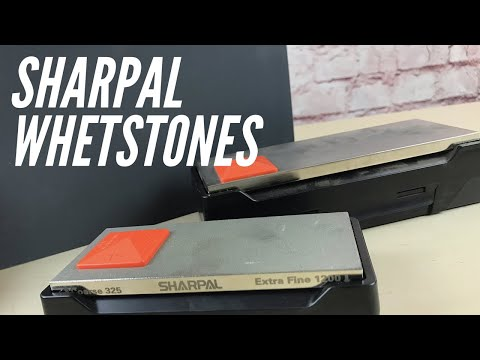 Sharpal Whetstone: Coarse, Fine, Angle Help, Storage - All In 1 System