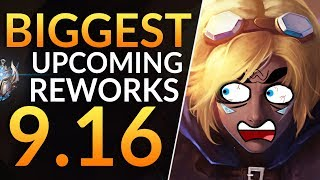 BIGGEST REWORKS of 9.16 you MUST KNOW: HUGE BUFFS and NERFS Incoming | League of Legends Guide (PBE)