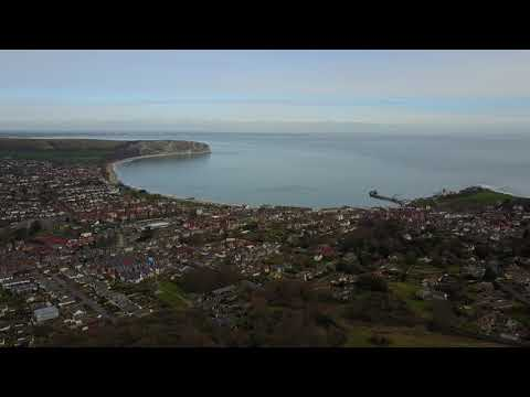 Click to view video Townsend nature reserve in Swanage, DJI Mavic Pro