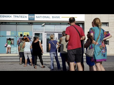 GREECE BANKS ABOUT TO RUN OUT OF PHYSICAL CASH. A WARNING FOR AMERICANS AND OTHER NATIONS..