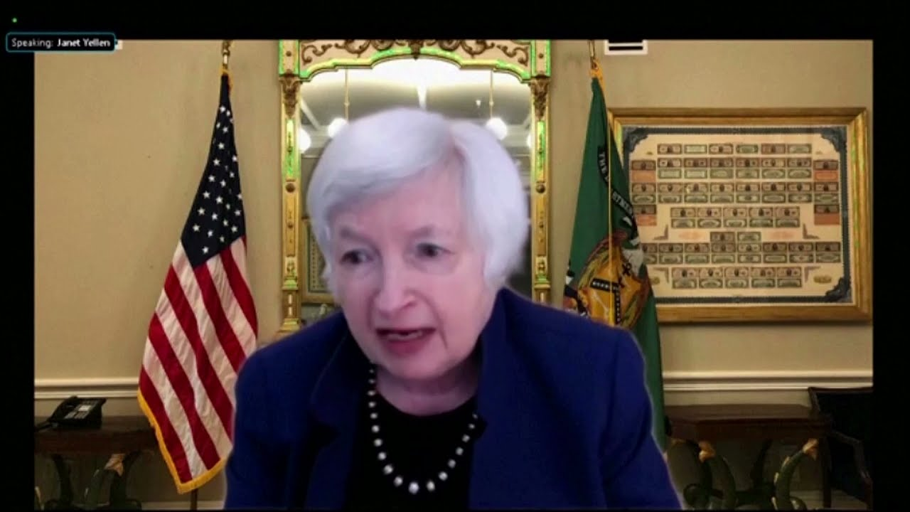 Yellen: 'Pursuing every avenue' to roll back discriminatory taxes