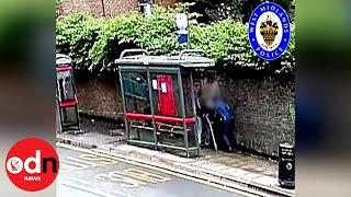 Sickening: Muggers Hit Man On Walking Stick with Metal Bar