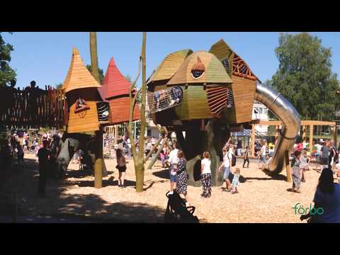 Invigning aktivitetsparken på Säteriet