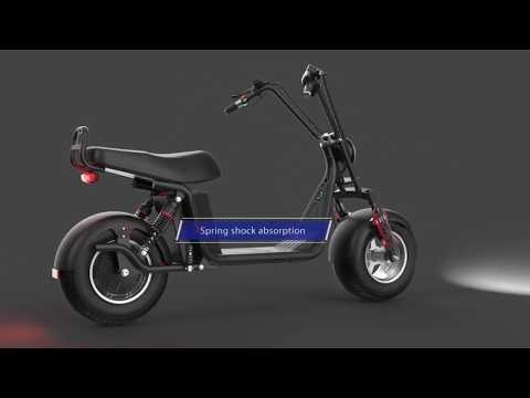 Ce Eec coc Electric scooters City coco motorcycle Rooder r804v for adult