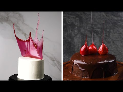 15 Cake Decoration & Plating Hacks to Impress Your Dinner Guests! So Yummy