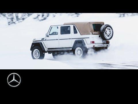 Mercedes-Maybach G 650 Landaulet: Team Galag Snow Tour