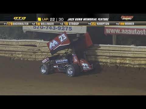 Selinsgrove Speedway | Jack Gunn Memorial 410 Sprint Car Highlights | 8/28/21 - dirt track racing video image