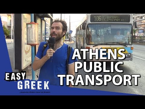 How to Use Public Transport in Athens | Easy Greek 40 photo