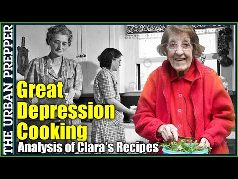 Great Depression Cooking: An Analysis of Clara's Recipes