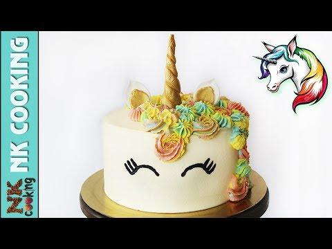 Торт ЕДИНОРОГ на Детский Праздник / День Рождения ? Рецепты NK cooking