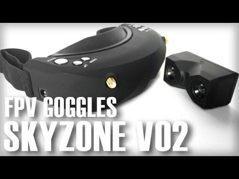FPVmodel SKYZONE V02 3D FPV Goggles With DVR - Part 1 - UCOmcA3f_RrH6b9NmcNa4tdg