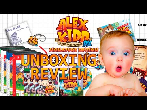 Alex Kidd DX Signature Edition   Unboxing y Fast Review