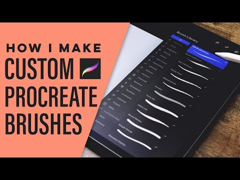 How I Create Custom Procreate Lettering Brushes