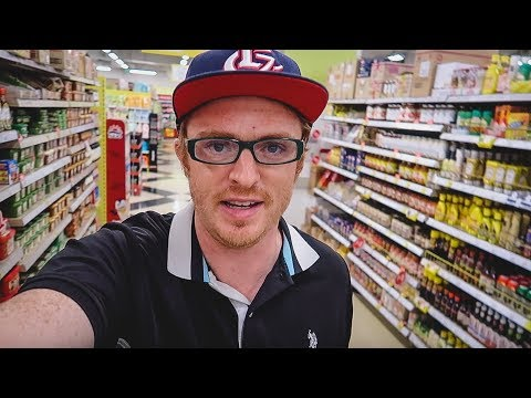 KOREAN SUPERMARKET TOUR + Prices at Home Plus in Busan | Grocery Shopping in Korea