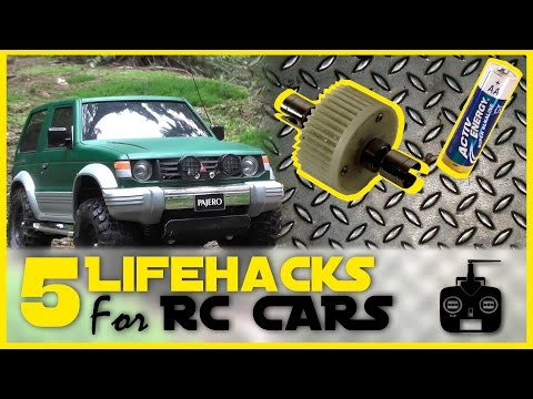 5 RC Car Lifehacks! (Lock diff; DIY drift tires; Battery test; etc.)  |   RC Showdown - UCN8zHvdP802maEkmfjpOVxw