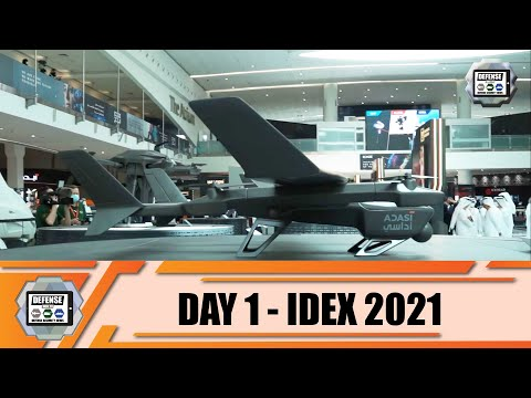 IDEX 2021 Day 1 International Land Defense Exhibition Official Online Show Daily News and Web TV
