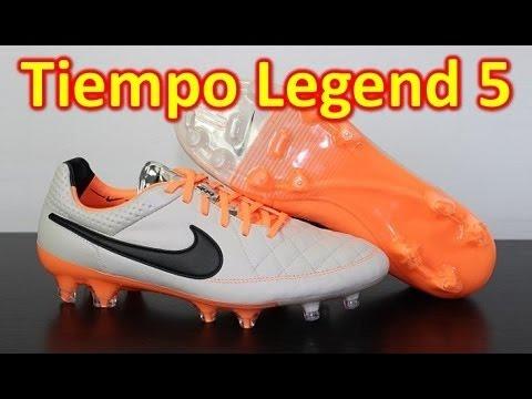 Nike Tiempo Legend 5 Desert Sand/Atomic Orange - Unboxing + On Feet - UCUU3lMXc6iDrQw4eZen8COQ