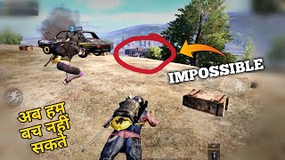 🔥Only 0.001% chance to survive this intense situation pubg mobile | Pubg mobile Hindi Gameplay