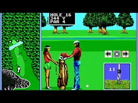 Tournament Golf (Round 9) (SEGA Enterprises) (MS-DOS) [1990]