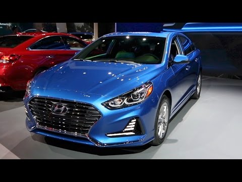2018 Hyundai Sonata - 2017 New York Auto Show