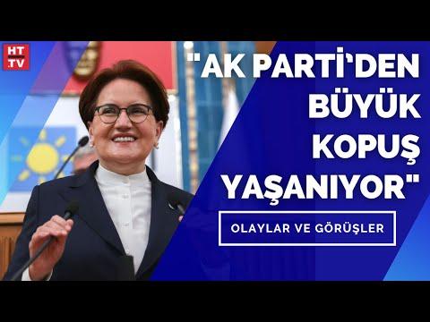 """İYİ Parti Lideri Meral Akşener: """"Demokrasi ve hayat tarzına saygı talebi var"""""""