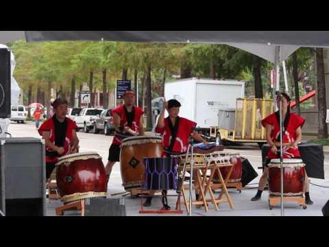 Dallas Kiyari Daiko Taiko Drummers