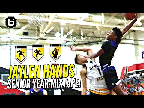 "Jaylen Hands aka ""Baby Westbrook"" Is The NEXT Great UCLA Point Guard! OFFICIAL Senior Year Mixtape!"