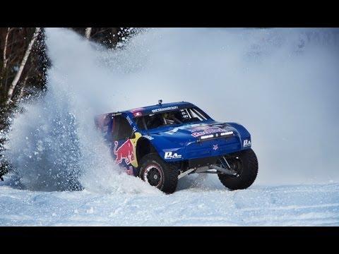 Red Bull Frozen Rush 2013 - Driving a 900-Horsepower truck on snow - UCblfuW_4rakIf2h6aqANefA