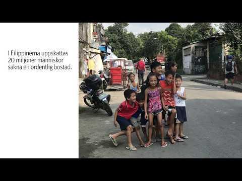Riksbyggen stöder We Effect i Filippinerna