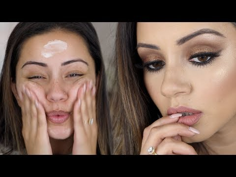 MY GO-TO GLAM MAKEUP TUTORIAL + FAVE MAKEUP PRODUCTS!
