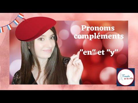 """Pronoms compléments """"en"""" et """"y"""""""