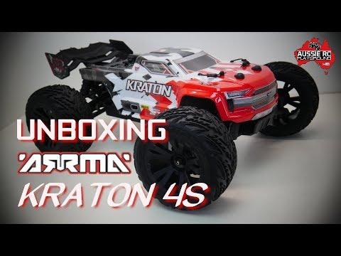 Unboxing: ARRMA Kraton 4S BLX Monster Truck - UCOfR0NE5V7IHhMABstt11kA