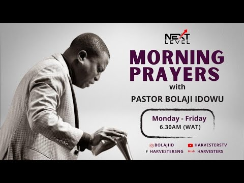 Next Level Prayer   Pst Bolaji Idowu  22nd March 2021