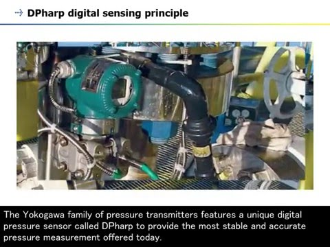 3. Pressure Transmitter (DPharp Series) - Working Principle -